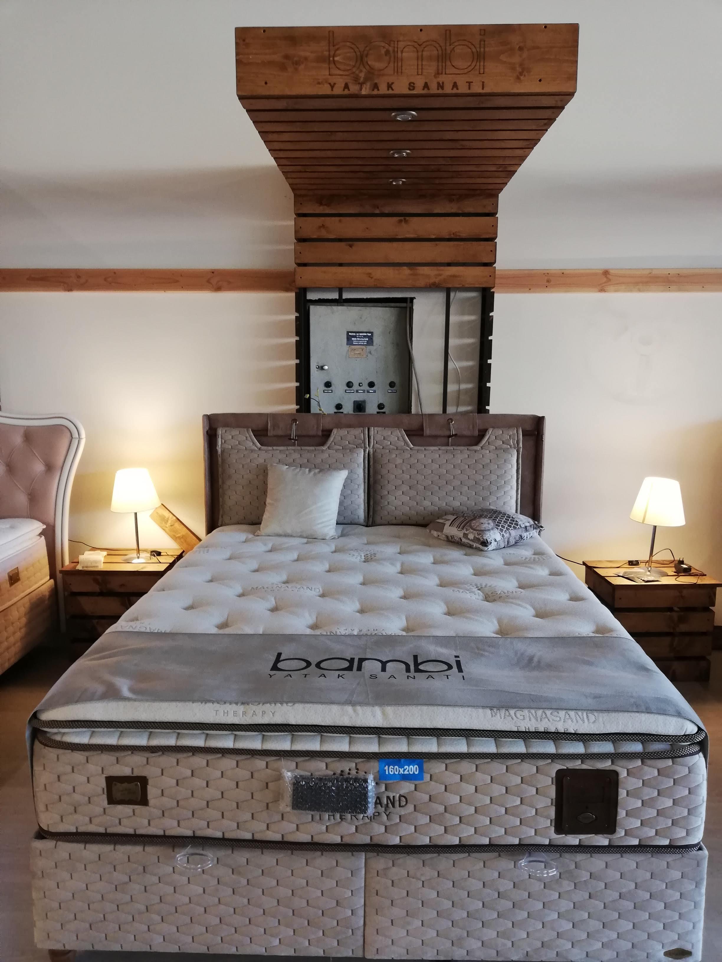 BAMBI-Betten - Premium-Betten inkl. Taschenfederkern-Matratzen