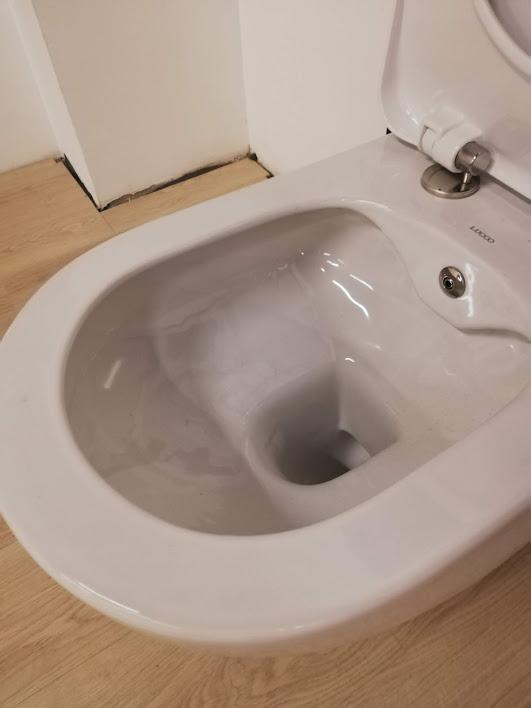 WC inkl. Bidet-Funktion (Innenansicht)